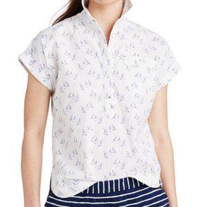 NWT Vineyard Vines Sailboat Popover Shirt
